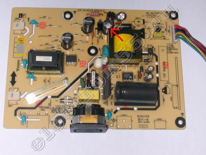 Монитор (V193HQ b / ET.