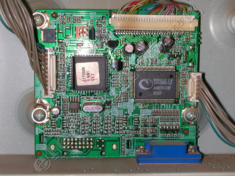 Схема монитора lg l1717s