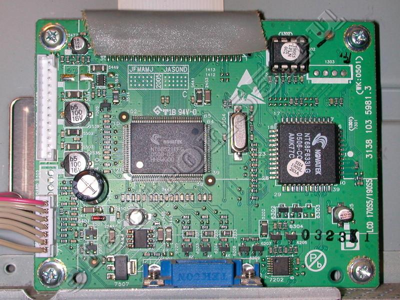 LCD 170S5/190S5 3138 103