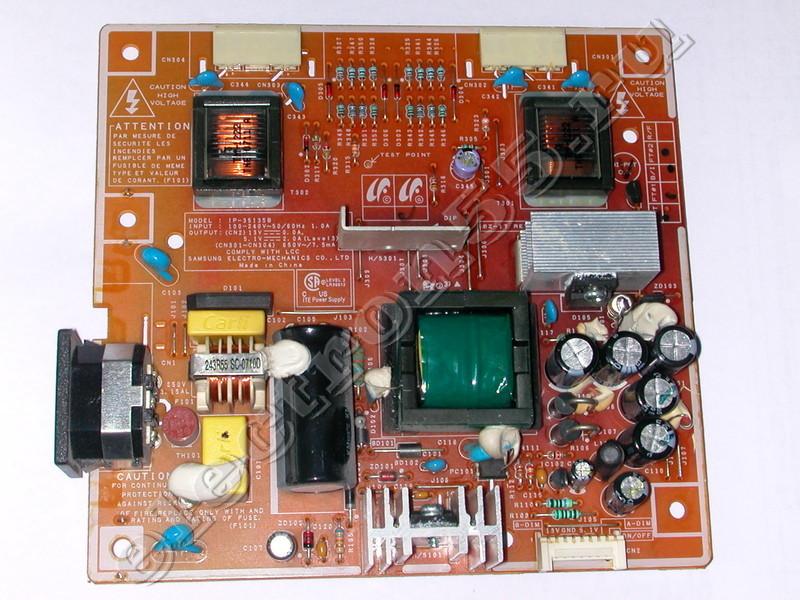 Схема блока питания монитора samaung gh19ls.
