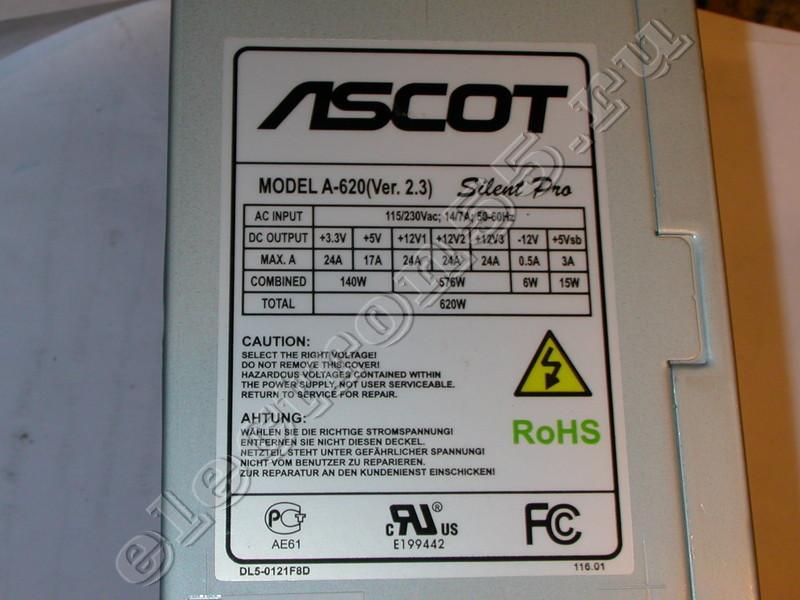 Блок питания ascot a-360 схема