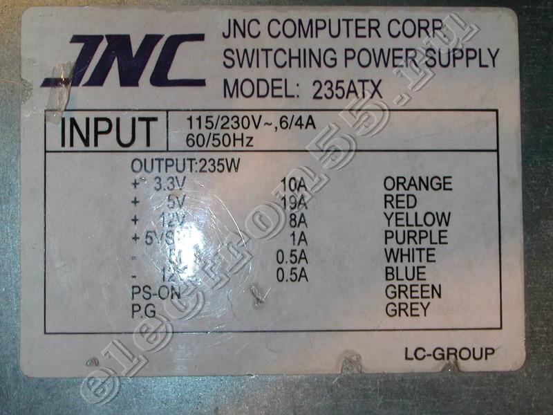 jnc computer corp mod lc-