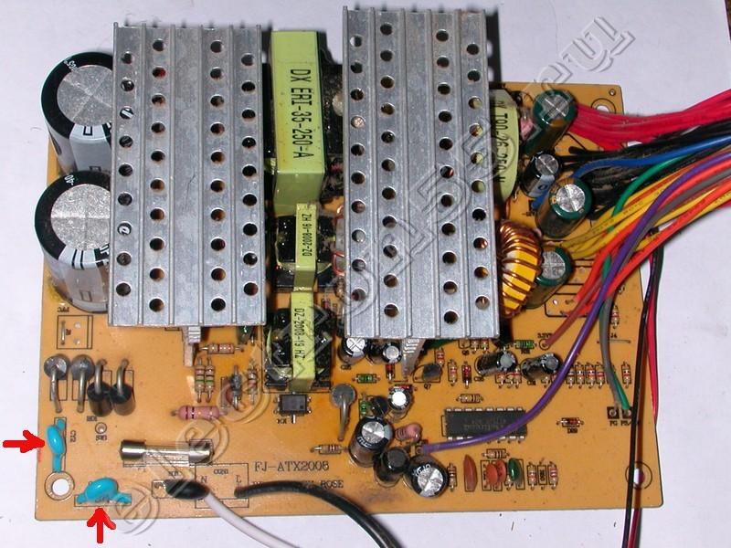 Схема блока питания power box pb 400w схемы