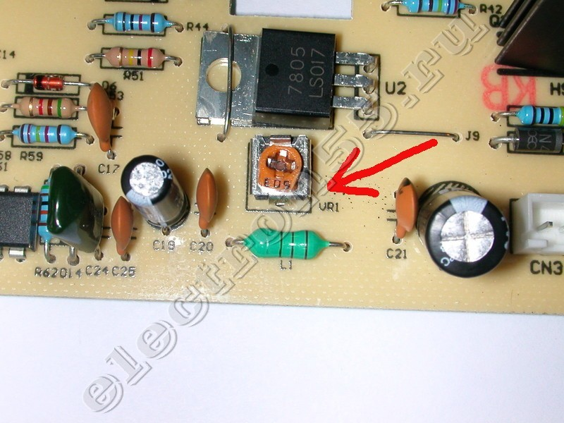 подстроечного резистора